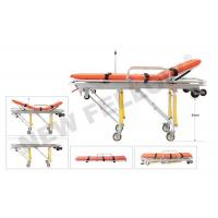 China Patients Auto Loading Aluminum Alloy Ambulance Trolley Stretchers NF-A3 on sale