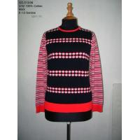 Quality Ladies' Knitted pullover by computer knit wholesale