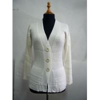 Buy cheap Ladies' Acrylic/Cotton Knitted Cardigan from wholesalers