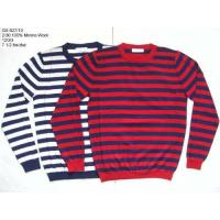 Buy cheap Men's 100% Wool Knitted Pullover 12 GG from wholesalers