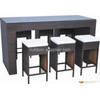 China outdoor wicker patio furniture on sale