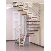 Quality Wood Steel Staircases GM-26 (double stringers with X shape, spiral staircase) wholesale
