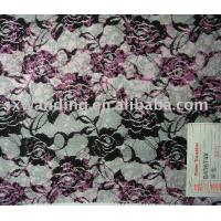 Quality Printed lace fabric wholesale
