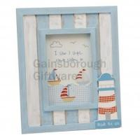 China Juliana The Seaside Collection Lighthouse Frame 4 x 6 in on sale