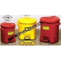 Buy cheap EAGLE Polyethylene Oily Waste Cans from wholesalers