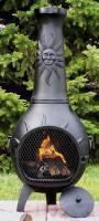 China Sun Stack Chiminea Cast Iron[CH029CI] on sale