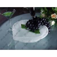 Buy cheap peach-shaped plate from wholesalers