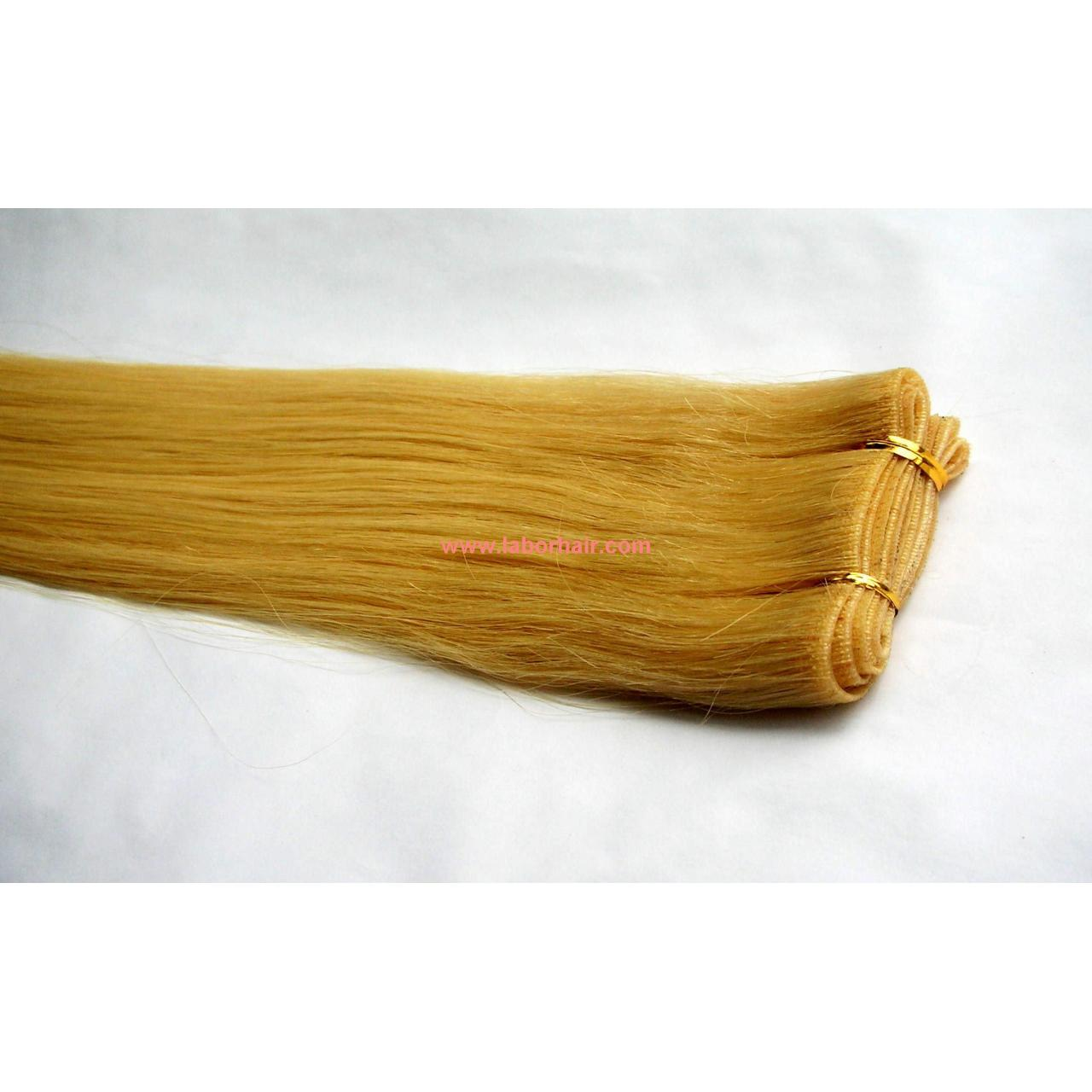 Quality Hand-knotted Skin Weft-Straight-#130 wholesale