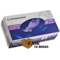 Quality Kimberly-Clark - Purple Nitrile Medical Exam Powder Free Gloves - CASE wholesale