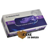 China Kimberly-Clark Purple Nitrile Medical Exam Gloves X-TRA - Case on sale