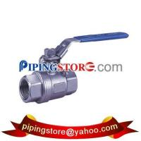 Quality 2 pc ball valve with locking device wholesale