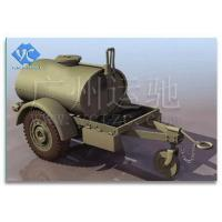 China Drought Relief Water Tank Trailer on sale