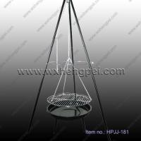 Quality outdoor product Camping hanging tripod Barbecue Grill (HPJJ-181) wholesale