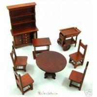 Quality Dollhouse Miniatures 1/12 Chinese Restaurant Furniture wholesale
