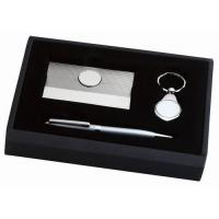 CARD CASE, BALL POINT PEN, AND KEY CHAIN GIFT SET