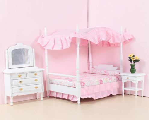 Cheap Bedroom Princess Canopy Bed Sets Of Cn Dollhouse
