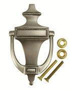 Quality Georgian Brass Door Knocker (Antique Nickel Finish) wholesale