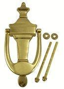 Quality 6 3/4 Tall Solid Brass Traditional Door Knocker wholesale