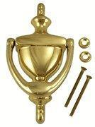 Quality 5 7/8 Inch Tall Solid Brass Traditional Door Knocker wholesale