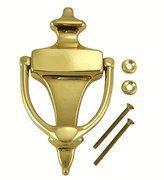 Quality 6 Inch Tall Solid Brass Traditional Door Knocker wholesale