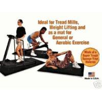 China EXERCISE FITNESS FLOOR MAT 3'X6'6X1/4 PEBBLED on sale