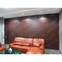 China Wall paneling with melamine hot pressed surface on sale