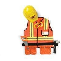 China Construction Worker Costume