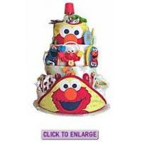 Buy cheap Sesame Street 4 Tier Diaper Cake by Diaper Cake Depot from wholesalers