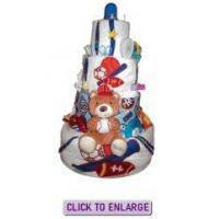 Buy cheap Sports 4 Tier Cake by by The Diaper Cake Depot from wholesalers