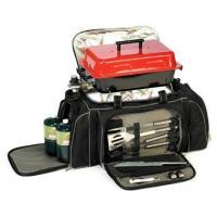 China Tailgating Grill Set w Propane Grill and Tool Kit CoolerItem #: 101776 on sale