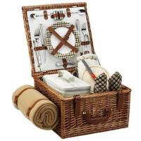 Quality Picnic at Ascot - London Cheshire Basket for Two w BlanketItem #: 344503 wholesale