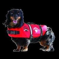 Buy cheap Red Neoprene Dog Life Jacket from wholesalers