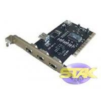 China Firewire PCI Controller Card 3 External And 1 Internal on sale