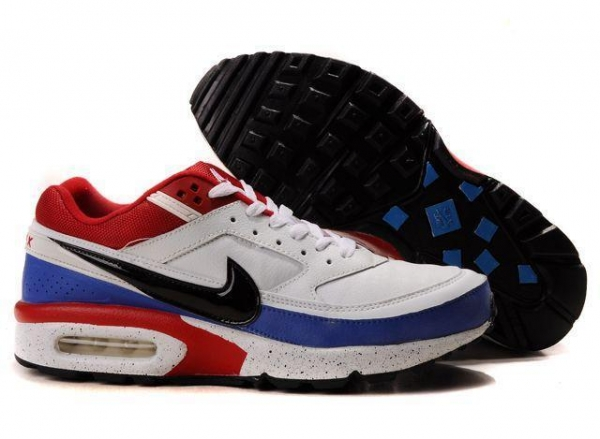 nike air max classic bw white blue red black 41578504. Black Bedroom Furniture Sets. Home Design Ideas