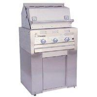 Quality Lazy Man LM210 Built In Grill on Base with 3 Broiler Burners wholesale