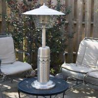 China Coral Coast Deluxe Stainless Steel Table Top Patio Heater on sale