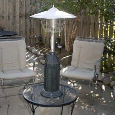 China Coral Coast Deluxe Cast Iron Table Top Patio Heater