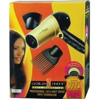 China Gold N Hot Professional 1875 Watt Ionic Dryer with Tourmaline #GH2257 on sale
