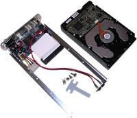 Quality Firewire 800 1394b / USB 2.0 Hard Drive Enclosure Assembly Overview wholesale