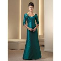 China Gorgeous A-line Strapless Taffeta Mother Dress Mother to Be Dress on sale