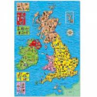 Quality Great Britain & Ireland Map wholesale