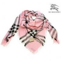 China Burberry Triangle Scarf Pink/Black New on sale