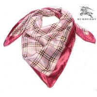 China Burberry Silk Scarf Hotlink/Light Pink on sale