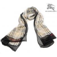 China Burberry Silk Scarf Carbon Black/Maize on sale