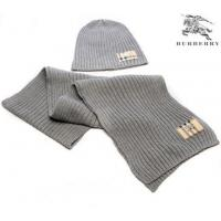 Quality Burberry Scarf & Hats Gray wholesale