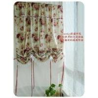 Quality Victorian Country roses Adjustable Balloon Curtain wholesale