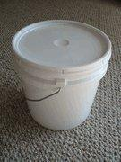 China 2 Gallon plastic pail and lid on sale
