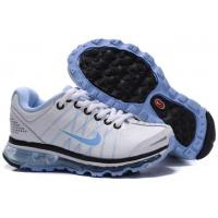 Buy cheap Kids Nike Air Max 2009 White Blue from wholesalers