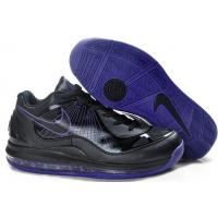 Cheap Nike Air Max 360 BB Low Black Purple for sale