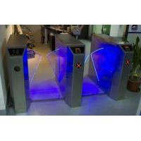 Quality Remote Control Wing Access Control Turnstiles with Light Alarm Function for Residential CE wholesale